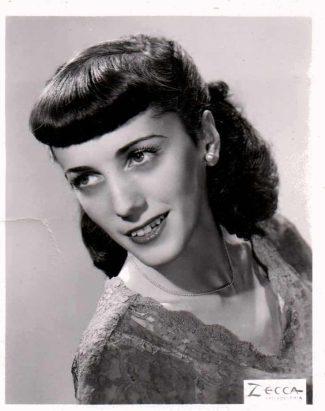 Marjorie Cohen Posing