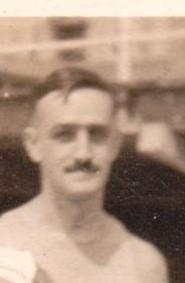 Man on beach 1923
