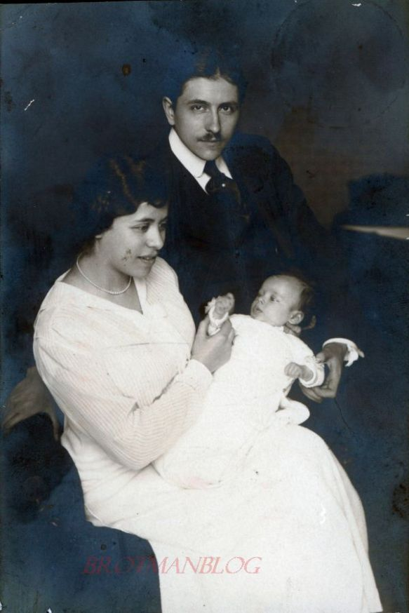 Siegfried, Lea, and Erich Stern c.