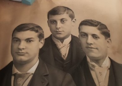 Sons of Hannah Goldsmith and Joseph Benedict, c. 1890. Courtesy of the family